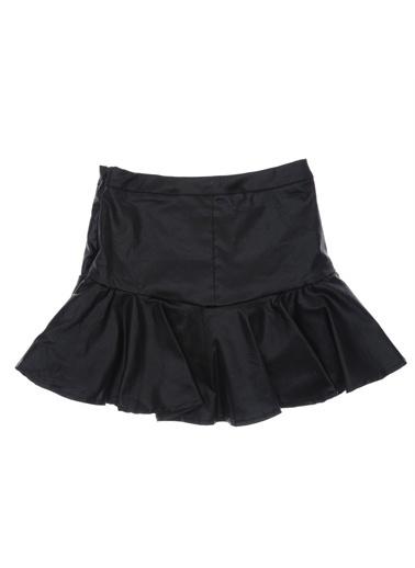 Panço Kız Çocuk Etek 18229007100 Siyah